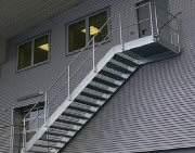 Scari exterioare zincate termic