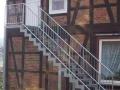 Scara de exterior zincata termic