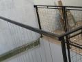 Balustrada cu fire din inox satina