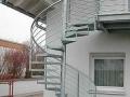 Scara spirala de exterior