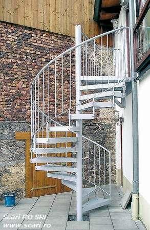 zincarea scarilor