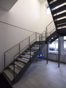 scari interioare cu vanguri